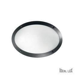 Lampada da esterno Applique Ideal Lux Maddi-1 AP1 NERO 096704