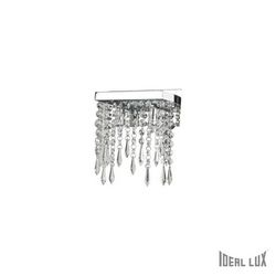 Lampada da parete Applique Ideal Lux Giada AP2 TRASPARENTE 098784