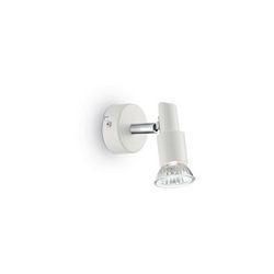 Lampada da parete Applique Ideal Lux Slem AP1 BIANCO 099064