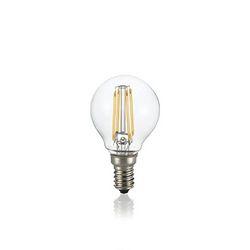Confezione da 10 Lampadine Led Ideal Lux CLASSIC E14 4W SFERA TRASP 3000K 101200