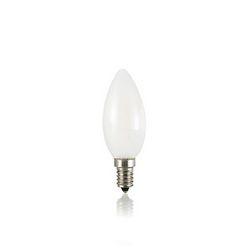 Confezione da 10 Lampadine Led Ideal Lux CLASSIC E14 4W OLIVA BIANCO 3000K 101231