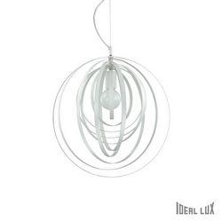 Lampadario sospensione Ideal Lux Disco SP1 BIANCO 103723