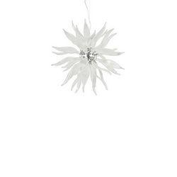Lampadario sospensione Ideal Lux Leaves SP8 BIANCO 111957