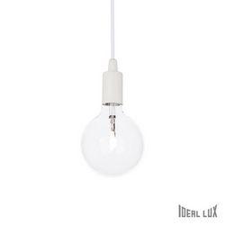 Lampadario sospensione Ideal Lux Edison SP1 BIANCO 113302