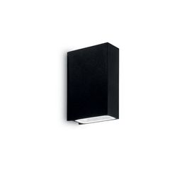 Lampada da parete Applique Ideal Lux Tetris-2 AP2 NERO 113784