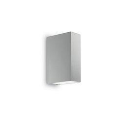 Lampada da parete Applique Ideal Lux Tetris-2 AP2 GRIGIO 113807