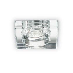 Faretto ad incasso Blues square trasparente Ideal Lux 114019