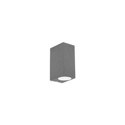 Lampada da parete Applique Ideal Lux Up AP2 ANTRACITE 115337