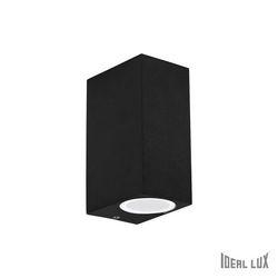 Lampada da parete Applique Ideal Lux Up AP2 NERO 115344