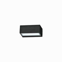 Lampada da parete Applique Ideal Lux Twin AP1 NERO 115375