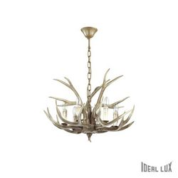 Lampadario sospensione Ideal Lux Chalet SP6 115498