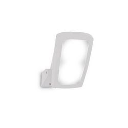 Lampada da esterno Applique Ideal Lux Germana AP1 BIANCO 120188