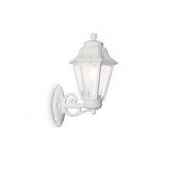 Lampada da esterno Applique Ideal Lux Anna AP1 BIG BIANCO 120423