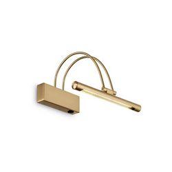 Lampada da parete Applique Ideal Lux Bow AP36 OTTONE SATINATO 121154