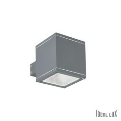 Lampada da esterno Applique Ideal Lux Snif AP1 SQUARE ANTRACITE 121963