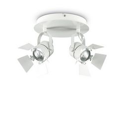 Lampada da parete Applique Ideal Lux Ciak AP2 BIANCO 122274