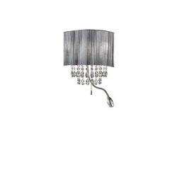 Lampada da parete Applique Ideal Lux Opera AP3 NERO 122595