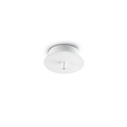 Rosone a luce singola Ideal Lux Cup MSP1 BIANCO 122823