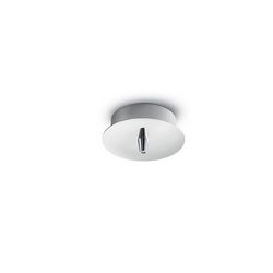 Rosone a luce singola Ideal Lux Cup MSP1 CROMO 122830