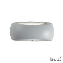 Lampada da esterno Applique Ideal Lux Francy-1 AP1 GRIGIO 123738