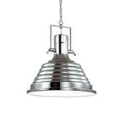 Lampadario sospensione Ideal Lux Fisherman SP1 D48 CROMO 125824