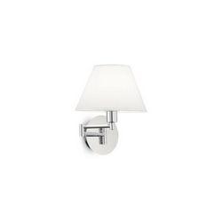 Lampada da parete Applique Ideal Lux Beverly AP1 CROMO 126784