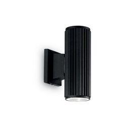 Lampada da parete Applique Ideal Lux Base AP2 NERO 129433
