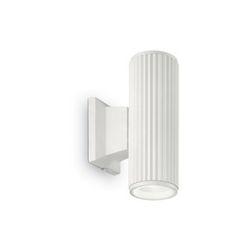 Lampada da parete Applique Ideal Lux Base AP2 BIANCO 129457