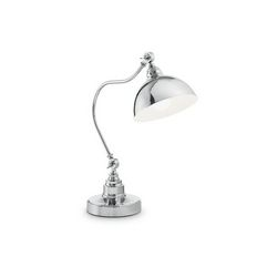 Lampada da tavolo Ideal Lux Amsterdam TL1 CROMO 131757