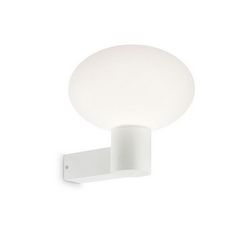 Lampada da parete Applique Ideal Lux Armony AP1 BIANCO 136172