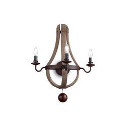 Lampada da parete Applique Ideal Lux Millennium AP3 136875