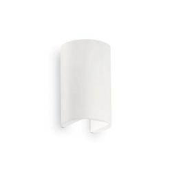 Lampada da parete Applique Ideal Lux Apollo AP2 BIANCO 137407