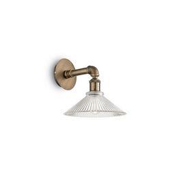 Lampada da parete Applique Ideal Lux Astrid AP1 BRUNITO 140001