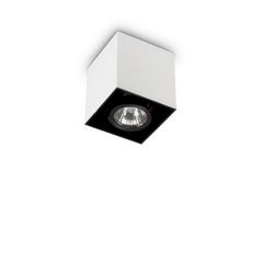 Plafoniera Ideal Lux Mood PL1 SMALL SQUARE BIANCO 140902