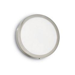 Universal 24w round nickel Ideal Lux 141480