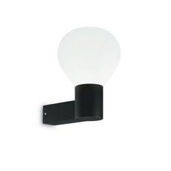 Lampada da parete Applique Ideal Lux Clio AP1 NERO 146614