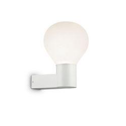 Lampada da parete Applique Ideal Lux Clio AP1 BIANCO 146621