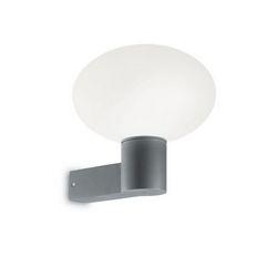 Lampada da parete Applique Ideal Lux Armony AP1 GRIGIO 147314