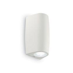Lampada da parete Applique Ideal Lux Keope AP2 SMALL BIANCO 147772