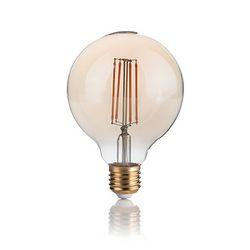 Confezione da 10 Lampadine Led Ideal Lux VINTAGE E27 4W GLOBO SMALL 2200K 151717