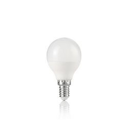 Confezione da 10 Lampadine Led Ideal Lux POWER E14 7W SFERA 4000K 151946