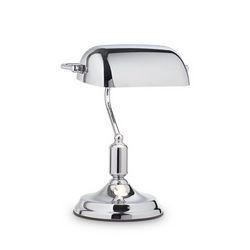 Lampada da tavolo Ideal Lux Lawyer TL1 ALL CHROME 152684