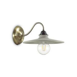 Lampada da parete Applique Ideal Lux Brooklyn AP1 153421