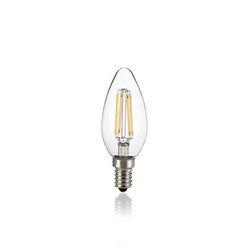 Confezione da 10 Lampadine Led Ideal Lux CLASSIC E14 4W OLIVA TRASP 4000K 153933