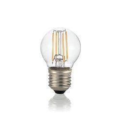 Confezione da 10 Lampadine Led Ideal Lux CLASSIC E27 4W SFERA TRASP 4000K 153957