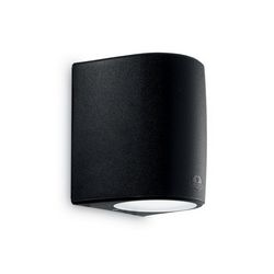 Lampada da parete Applique Ideal Lux Keope AP1 BIG NERO 154824