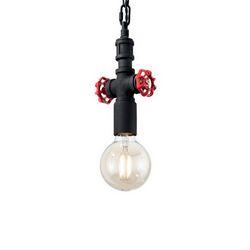 Lampadario sospensione Ideal Lux Plumber SP1 NERO 155906