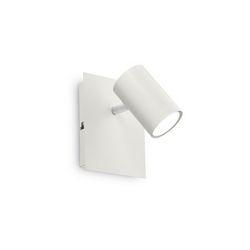 Lampada da parete Applique Ideal Lux Spot AP1 BIANCO 156729