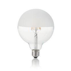 Confezione da 10 Lampadine Led Ideal Lux CLASSIC E27 8W GLOBO D125 SATINATA 3000K 157580