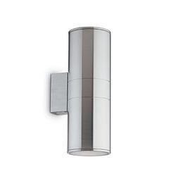 Lampada da parete Applique Ideal Lux Gun AP2 BIG GRIGIO 163604